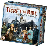 ticket to ride rails and sails bordspel ticketspel