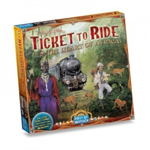 Ticket to Ride uitbr. The Heart of Africa - Engelse versie