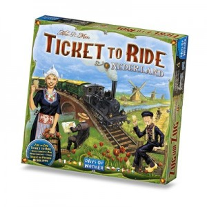 Ticket to Ride uitbr. Nederland