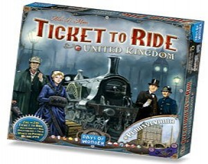 Ticket to Ride uitbr. United Kingdom (+Pennsylvania)