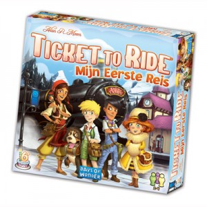Ticket to Ride - Mijn eerste reis