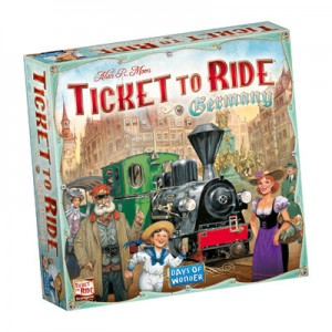 Ticket to Ride Germany - Engelstalige versie