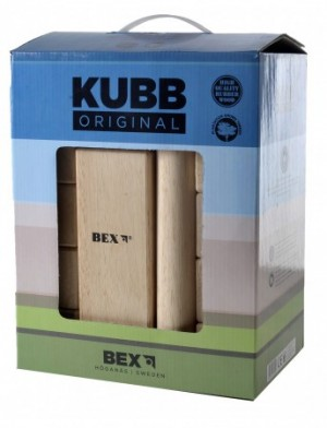 Kubb Original Rubberhout