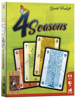 999 Games: 4 Seasons - Kaartspel