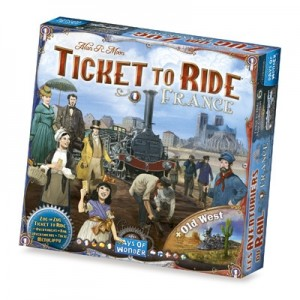 Ticket to Ride uitbr. France/Old West