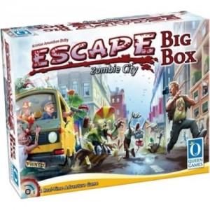 Queen Games: Escape Zombie City Bigbox - Engelstalige versie