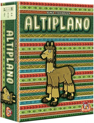 White Goblin Games: Altiplano - bordspel