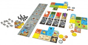 queendomino bordspel white goblin games