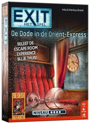 999 Games: Exit - De dode in de Orient Express