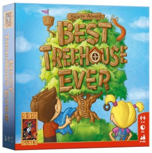 999 Games: Best treehouse ever - kaartspel