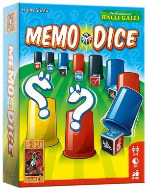 999 Games: Memo Dice - dobbelspel
