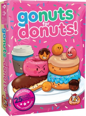 White Goblin Games: Go nuts for Donuts - kaartspel