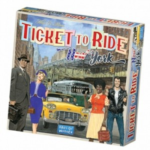 Days of Wonder: Ticket to Ride New York - bordspel