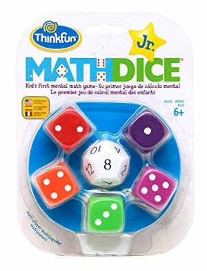 Thinkfun: Math Dice Junior - dobbelspel