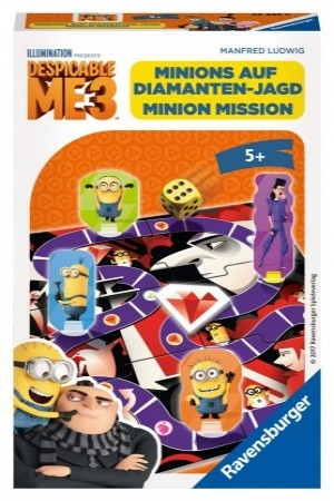 Ravensburger: Minions Despicable 3 Pocketspel - bordspel OP = OP