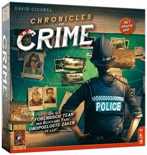 999 Games: Chronicles of Crime - actiespel