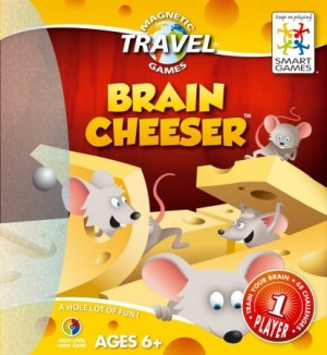 Smart Games: Brain Cheeser - Magnetisch reisspel
