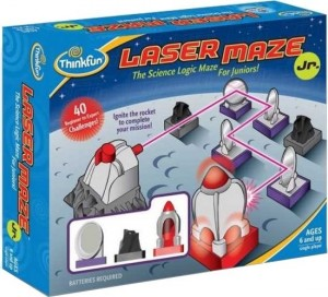 Thinkfun: Laser Maze Junior - denkspel