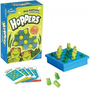 Thinkfun: Hoppers - denkspel
