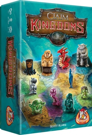 White Goblin Games: Claim Kingdoms - bordspel