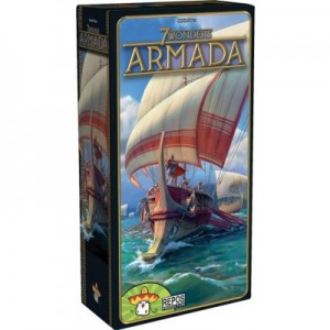 Repos Productions: 7 Wonders uitbr. Armada - bordspel