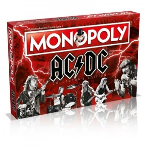 Winning Moves: Monopoly ACDC - Engelstalig bordspel