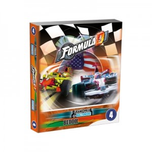 Asmodee: Formula D uitbreiding Buddh/Grand Prix of Baltimore - bordspel