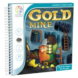 Smart Games: Magnetische puzzelspel Gold Mine - denkspel