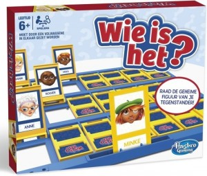 Hasbro: Wie is het? - bordspel