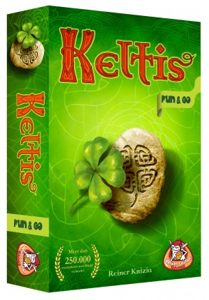 White Goblin Games: Keltis Fun & Go - reisspel