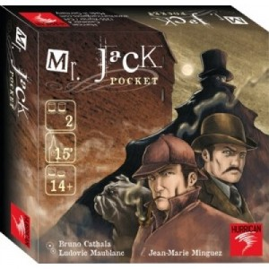 Hurrican: Mr Jack Pocket reisspel - kaartspel