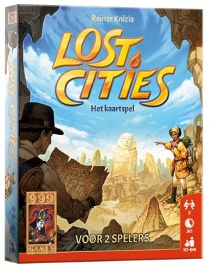 lost cities kaartspel 999 games
