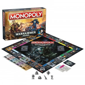 Winning Moves: Monopoly Warhammer 40.000 - Engelstalig bordspel