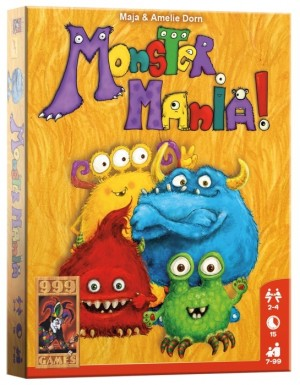 999 Games: Monster Mania - kaartspel