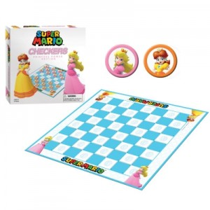 Super Mario Princess Checkers - Engelstalig bordspel