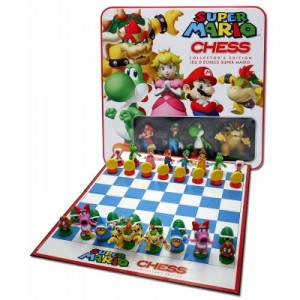 USAopoly: Super Mario Chess in tin blik - Engelstalig bordspel