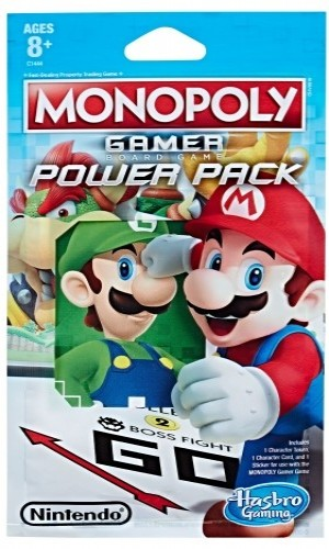 Monopoly Gamer Figure pack - Mario Wit/Rood