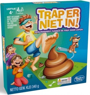 Hasbro: Trap er niet in - kinderspel