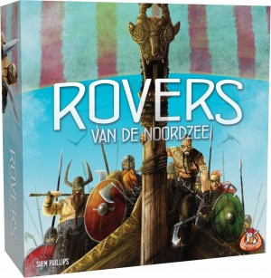 White Goblin Games: Rovers van de Noordzee - bordspel