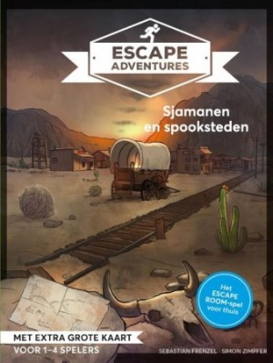 Escape Adventures: Sjamanen en spooksteden - escape spel