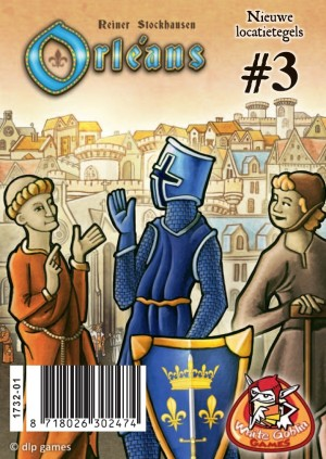 White Goblin Games: Orléans uitbr. Locatietegels 3 - bordspel