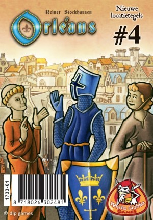 White Goblin Games: Orléans uitbr. Locatietegels 4 - bordspel