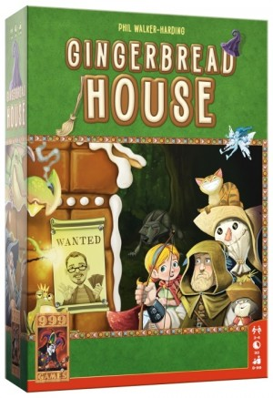 999 Games: Gingerbread House - bordspel