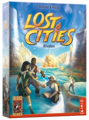 999 Games: Lost Cities Rivalen - kaartspel