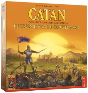 999 Games: Catan uitbr. De legende van de Veroveraars - bordspel