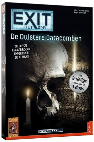 999 Games: Exit De Duistere Catacomben 2in1 - escape spel