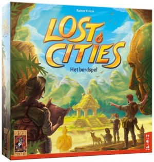999 Games: Lost Cities Het Bordspel - bordspel