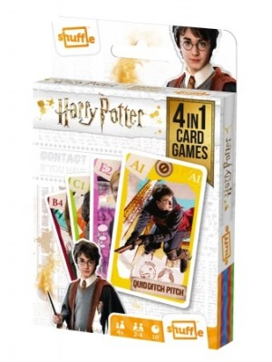 Carta Mundi: Harry Potter 4 in 1 - kaartspel