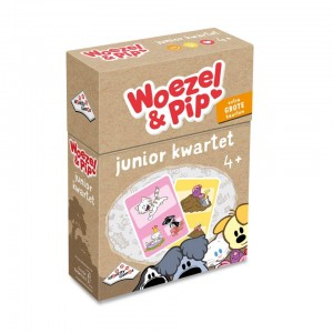 Identity Games: Woezel en Pip Junior Kwartet - kinderspel