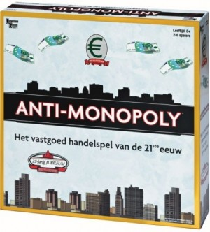 Universitay Games: Anti-Monopoly - bordspel